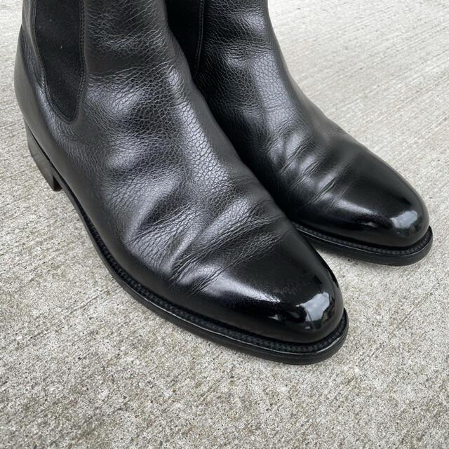 J.M. WESTON(ジェーエムウエストン)のJMウエストン 705 サイドゴアブーツ 7.5D(グレインレザー) メンズの靴/シューズ(ブーツ)の商品写真