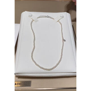 MIKIMOTO - ミキモト  大人気ベビーパールネックレス K18 アコヤ真珠