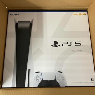 プレイステーション(PlayStation)のSONY ソニー PS5 プレイステーション5 本体 ディスクドライブ搭載版(家庭用ゲーム機本体)
