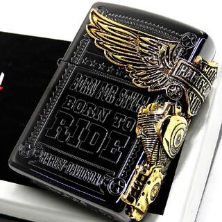 ジッポー(ZIPPO)の送料無料☆zippo☆日本限定☆HARLEY-DAVIDSON☆ブラック☆ジッポ(タバコグッズ)