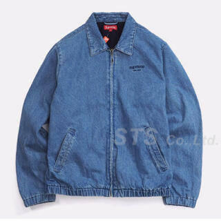 Supreme - supreme denim harrington jacket