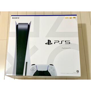 プレイステーション(PlayStation)のPlayStation 5 ディスクドライブ 搭載版 PS5 本体(家庭用ゲーム機本体)