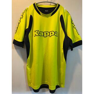 カッパ(Kappa)のKAPPA(カッパ) サッカー 半袖プラクティスシャツ イエロー M(ウェア)
