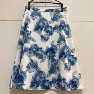 ANAYI - ANAYI フレアスカート フラワー プリント 花柄 36