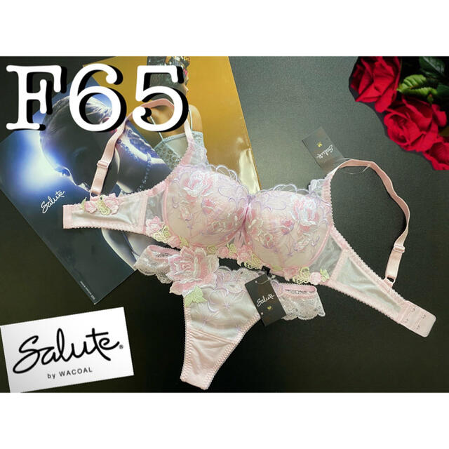 Wacoal(ワコール)のサルート【ジャンヌダルク】F65&TバックM PI 92 レディースの下着/アンダーウェア(ブラ&ショーツセット)の商品写真