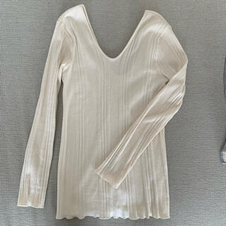 Ron Herman - 【sale】kiira♡U-NECK RIB Tシャツ