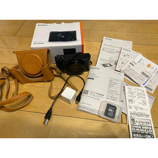 SONY - sony デジカメ デジタルカメラ ケース、sdカード付き