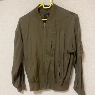 ダブルクローゼット(w closet)のw closet MA-1ブルゾン ジャケット(ミリタリージャケット)