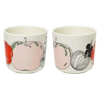 marimekko - マリメッコ ラテマグ  コーヒーカップ TARHURI タルフリ 2個