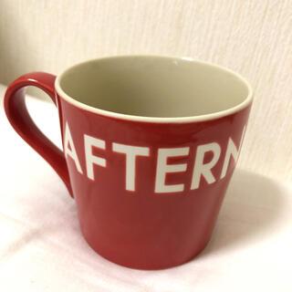 AfternoonTea - Afternoon Tea ロゴマグカップ アフタヌーンティー レッド 終売