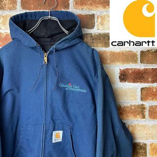 カーハート(carhartt)のcarhartt カーハート USA製 企業コラボ メンズLサイズ 美品!(カバーオール)