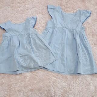MARKEY'S - 美品 MARKEYS チュニック 女の子 size100、120 姉妹コーデ