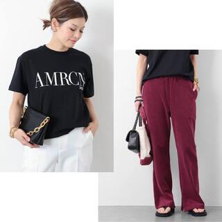 DEUXIEME CLASSE - 【AMERICANA/アメリカーナ】 AMRCN Tシャツ パイル パンツ
