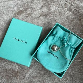 ティファニー(Tiffany & Co.)のティファニー Tiffany ハードウェア ボールネックレス(ネックレス)