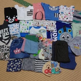 夏用 子供服 90~100サイズ 男 女 兼用 まとめ売り(Tシャツ/カットソー)