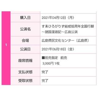 すゑひろがりず 諸国漫遊記 広島公演 チケット(お笑い)