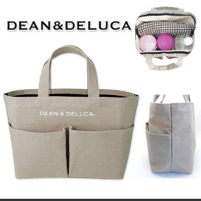 DEAN & DELUCA(ディーンアンドデルーカ)の専用。    DEAN-DELUCAキャンパストートバック レディースのバッグ(トートバッグ)の商品写真