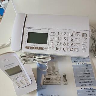 Panasonic - パナソニック FAX 電話機 KX-PD303-W