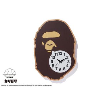 アベイシングエイプ(A BATHING APE)の【 BAPE X CLOCKWORKSAND X KARIMOKU 】時計(掛時計/柱時計)