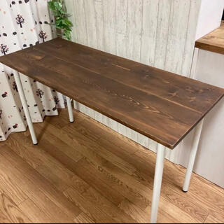 【未使用】カウンター テーブル 無垢材(バーテーブル/カウンターテーブル)