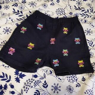 ヒステリックミニ(HYSTERIC MINI)のテディ刺繍パンツ(パンツ/スパッツ)