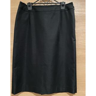 インディヴィ(INDIVI)の【インディヴィ】黒タイトスカート(Lサイズ)(ひざ丈スカート)