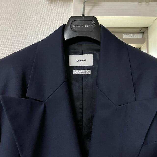 1LDK SELECT(ワンエルディーケーセレクト)のhed mayner オーバーサイズジャケット ダブルジャケット メンズのジャケット/アウター(テーラードジャケット)の商品写真