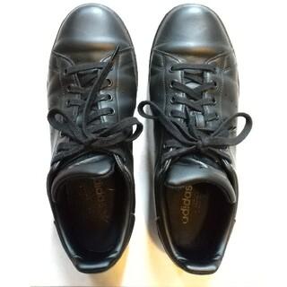adidas - adidas アディダス スタンスミス ブラック レザー 27.5cm