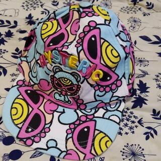 ヒステリックミニ(HYSTERIC MINI)のテディキャップ  M(帽子)