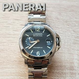 パネライ(PANERAI)のPANERAI ルミノール マリナーナデイト 自動巻き (腕時計(アナログ))
