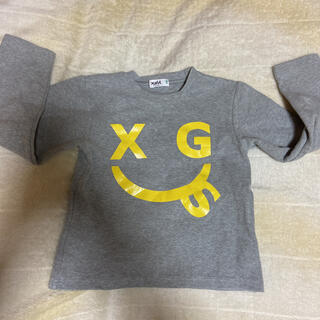 エックスガールステージス(X-girl Stages)のロンT  130(Tシャツ/カットソー)
