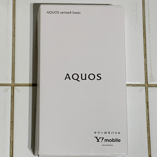 SHARP - AQUOS sense4 basic