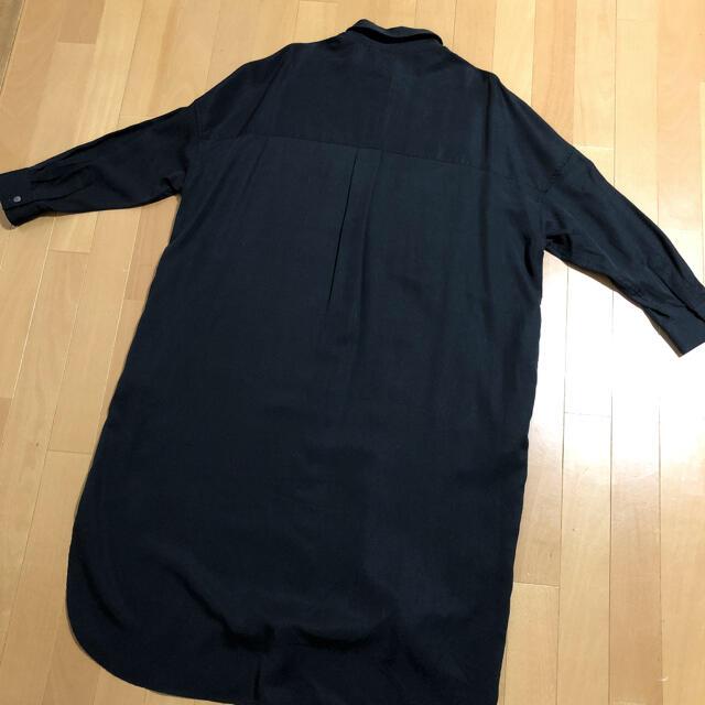 ZARA(ザラ)のZARA ロングシャツ 新品 レディースのトップス(Tシャツ(長袖/七分))の商品写真