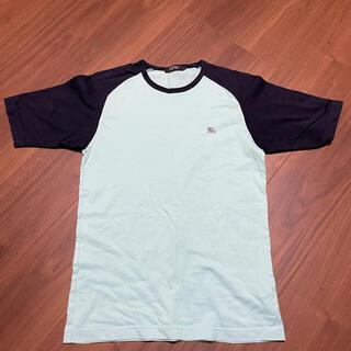 BURBERRY BLACK LABEL - BURBERRY BLACK LABEL Tシャツ メンズ ブルー サイズ2