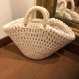 ANAYI - アナイ 未使用 籠バッグ 25,000円