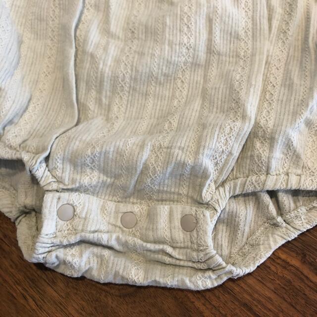 petit main(プティマイン)のちゃん子さま テータテート70 キッズ/ベビー/マタニティのベビー服(~85cm)(ロンパース)の商品写真