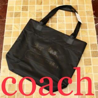 COACH - 新品 未使用COACH コーチ ナイロン レザートートバッグ