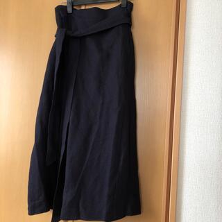 アーバンリサーチロッソ(URBAN RESEARCH ROSSO)のアーバンリサーチ リネンスカート(ロングスカート)