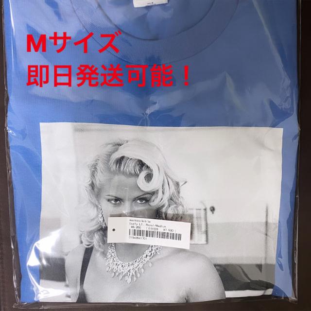 Supreme(シュプリーム)のSupreme Anna Nicole Smith Tee ブルー 青 Mサイズ メンズのトップス(Tシャツ/カットソー(半袖/袖なし))の商品写真