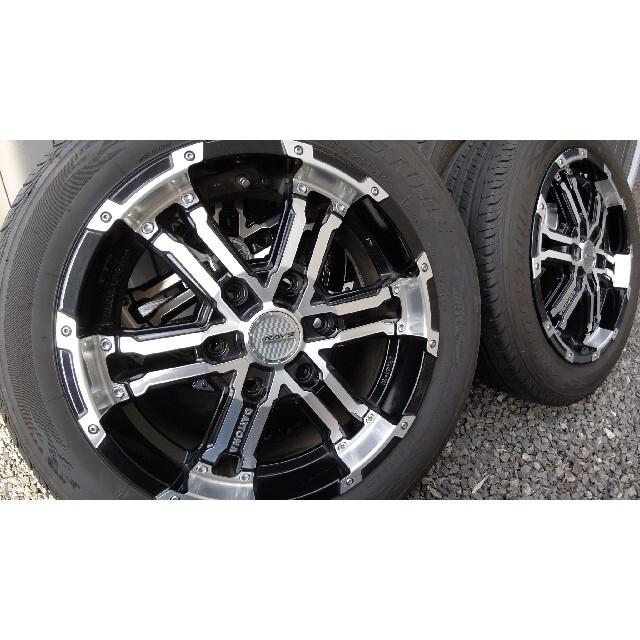 レイズ デイトナ FDX ハイエース 215/60R 17 109/107 自動車/バイクの自動車(タイヤ・ホイールセット)の商品写真