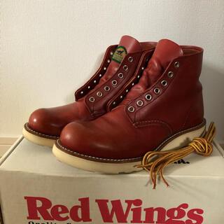 REDWING - レッドウィング ブーツ 9872 半円犬タグ