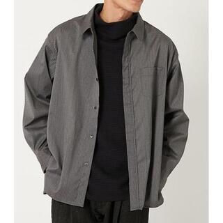 HOLLYWOOD RANCH MARKET - BREECHEZ / SUPER120'sストライプオーバーシャツ