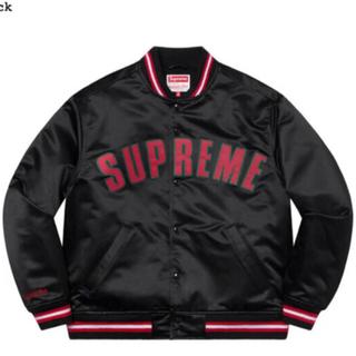 Supreme - supreme Satin Varsity Jacket