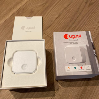 オーガスト(AUGUST)のaugust connect 新品未使用 (その他)