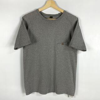 エンジニアードガーメンツ(Engineered Garments)の【美品】Nigel Cabourn クルーネック Tシャツ グレー 46 日本製(Tシャツ/カットソー(半袖/袖なし))