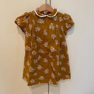 こども ビームス - little cotton clothes ワンピース 3-4y