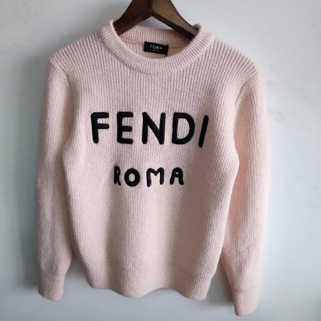 FENDI(フェンディ)の長袖 Fendi フェンディ スウェット ニット  レディースのトップス(ニット/セーター)の商品写真