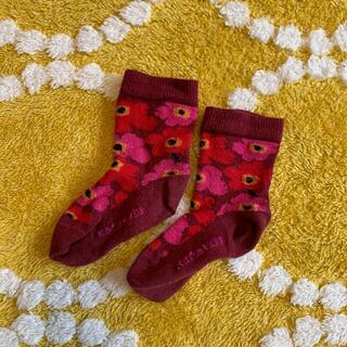 マリメッコ(marimekko)のマリメッコ キッズ靴下(靴下/タイツ)