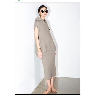 L'Appartement DEUXIEME CLASSE - 美品 L'Appartment   アメリカーナスウェットパーカースカート