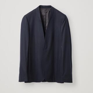 COS - 20aw COS カラーレス カシミア混 ウールジャケット XS